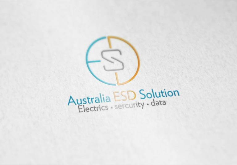 Australia ESD Solution Logo Design