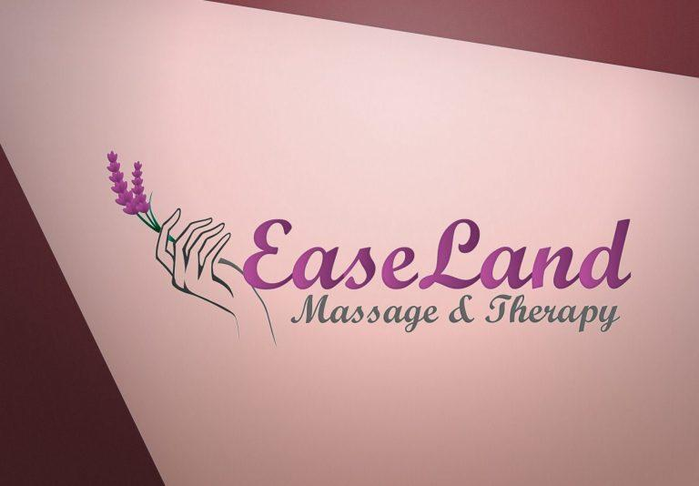 ease land logo design 名片设计