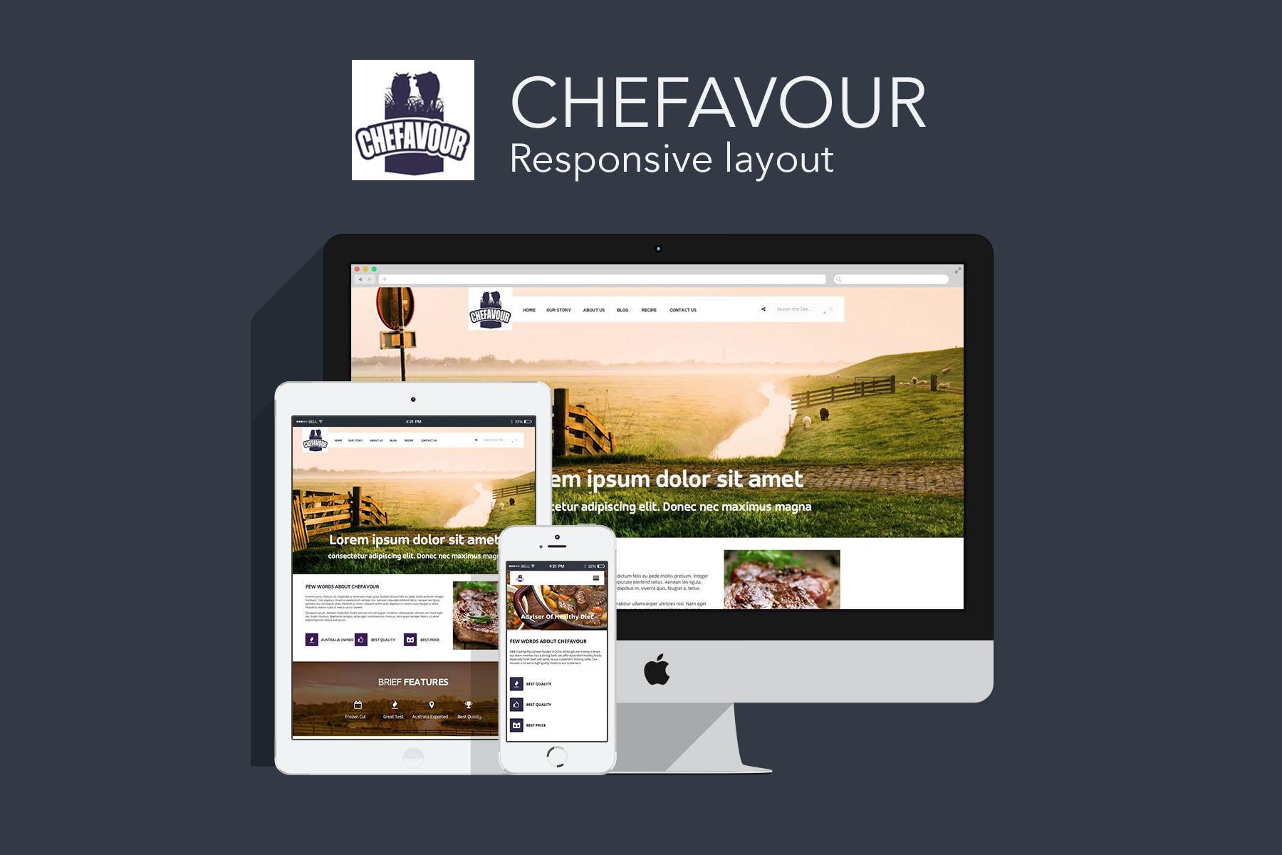 Website Design and Development -- Chefavour
