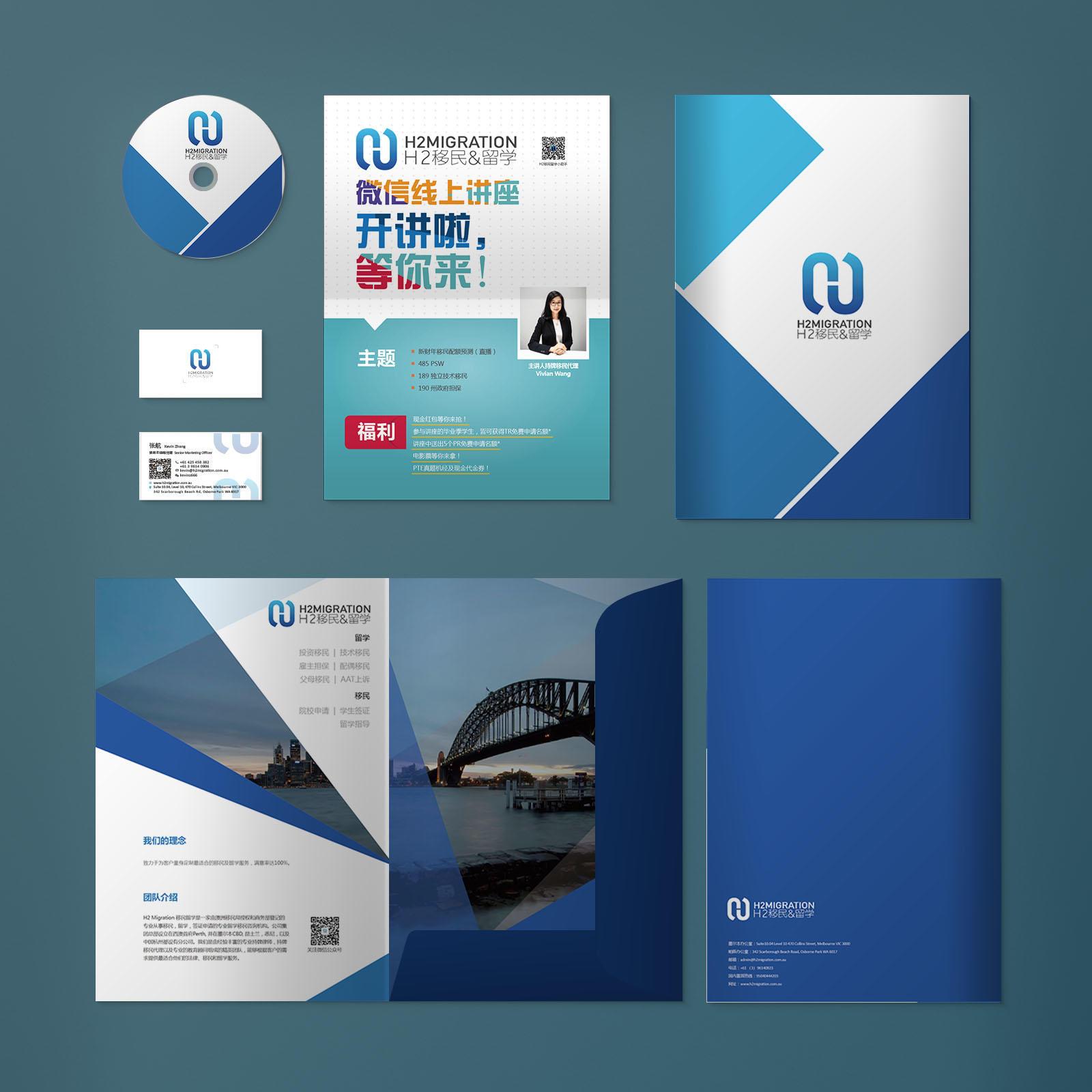 Stationary Design for H2 Migration Agency
