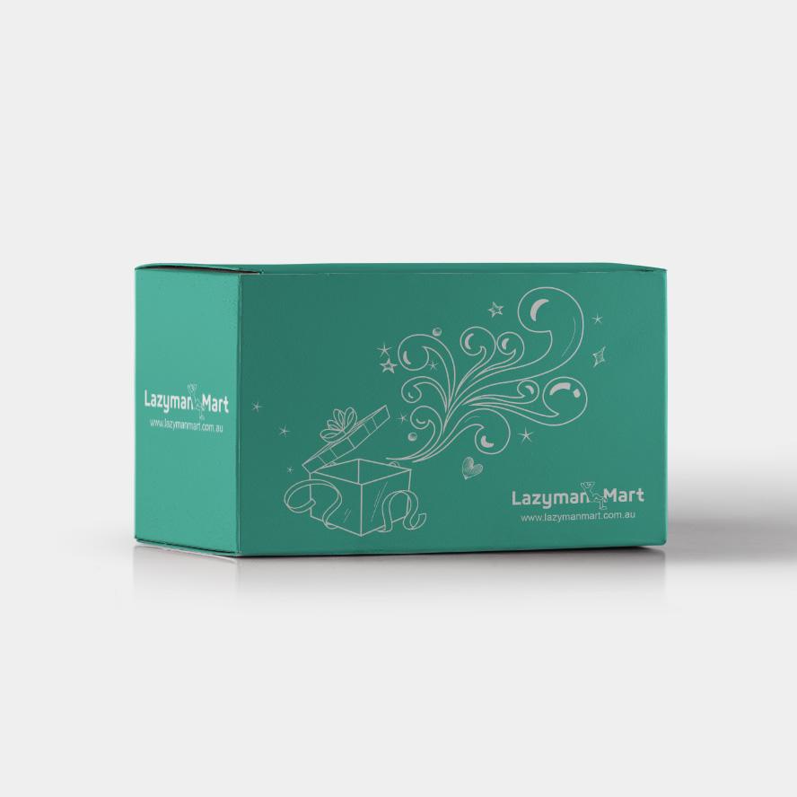 Lazymanmart 网上百货商城品牌及网站设计