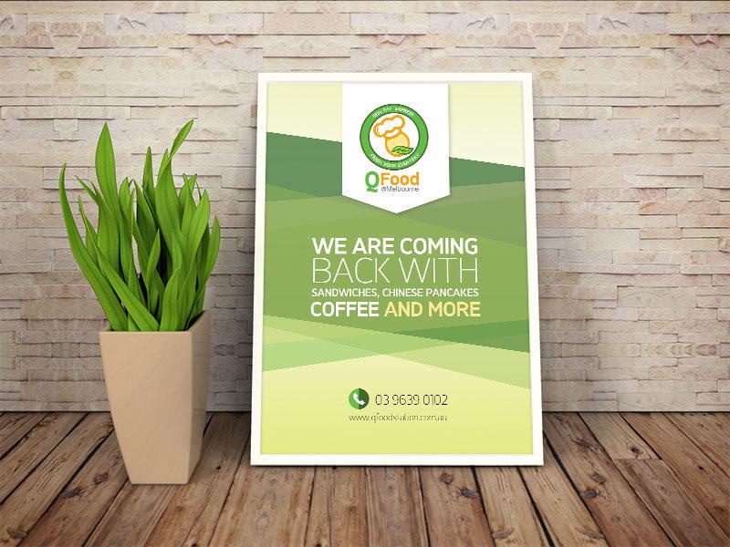 Q food Branding Design