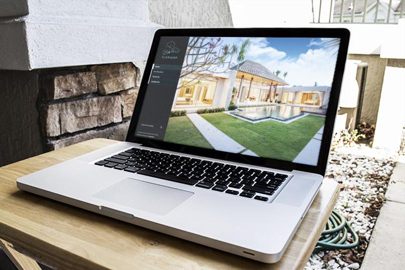 Website design -- Blue Land Design