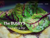 美食餐饮网站设计