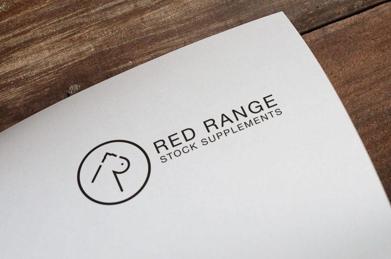 Logo design red range