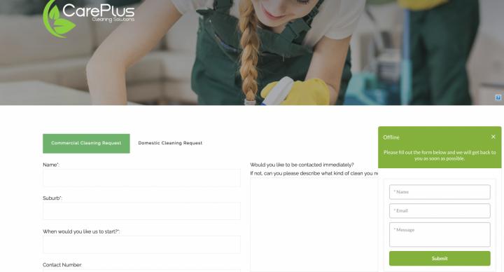 干洗、清洁行业网站设计功能建议